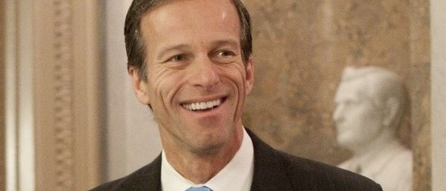 FILE - In this Dec. 19, 2009 file photo, Sen. John Thune, R-S.D. is seen on Capitol Hill in Washington. The tea party