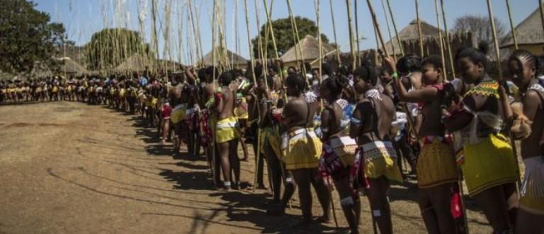 Zulu women in South Africa [Getty Images]