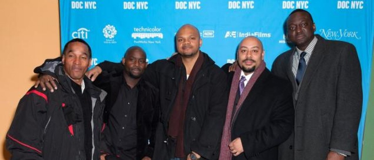 The Central Park Five [Getty Images]