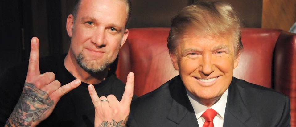 Jesse James endorses Donald Trump for president. (Photo: West Coast Choppers Facebook page)