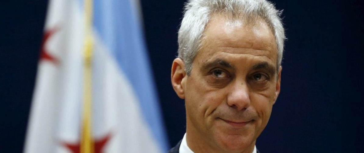 Chicago Mayor Rahm Emanuel listens to remarks at a news conference in Chicago, Illinois, United States, December 7, 2015. REUTERS/Jim Young