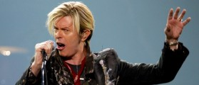 David Bowie performs his North American debut of