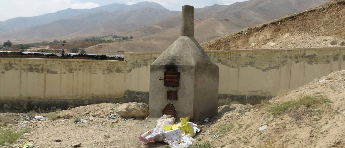 Afghan hospitals are putting medical waste in child-accessible areas, a new report finds. Photo credit: SIGAR