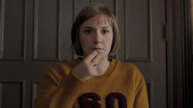"Dunham as Hannah Horvath in ""Girls."" (Photo: HBO screen grab)"