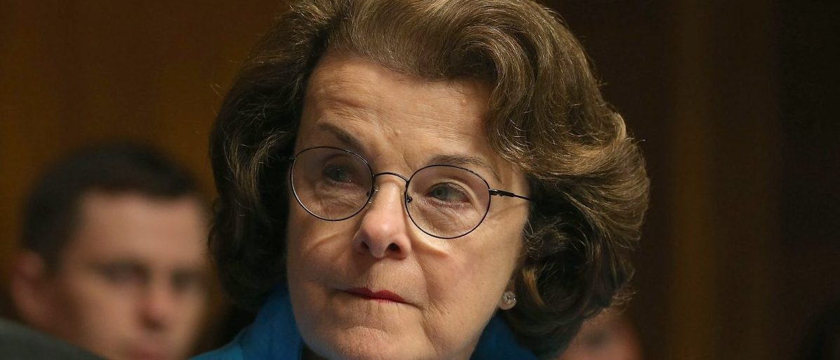 Sen. Dianne Feinstein (D-CA) has made a career out of pushing gun control, and has even said if she could get the votes she would support gun confiscations. (Photo by Mark Wilson/Getty Images)