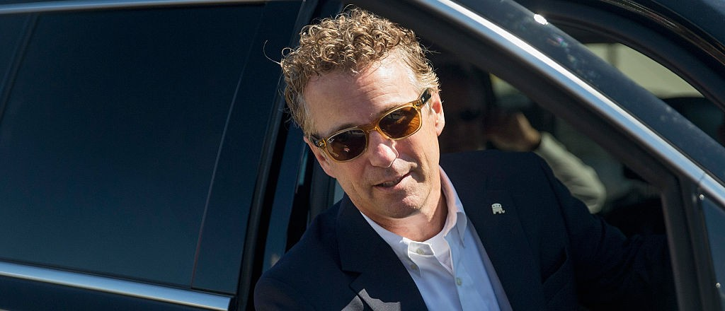 Rand Pulls No Punches, Trolls Christie On #NationalHugDay (Getty Images)