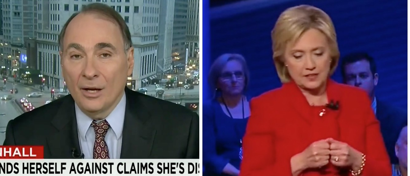Axelrod: Hillary Not Calling Private Email Server A 'Mistake In Judgment' Contradicts Apology [images via CNN]