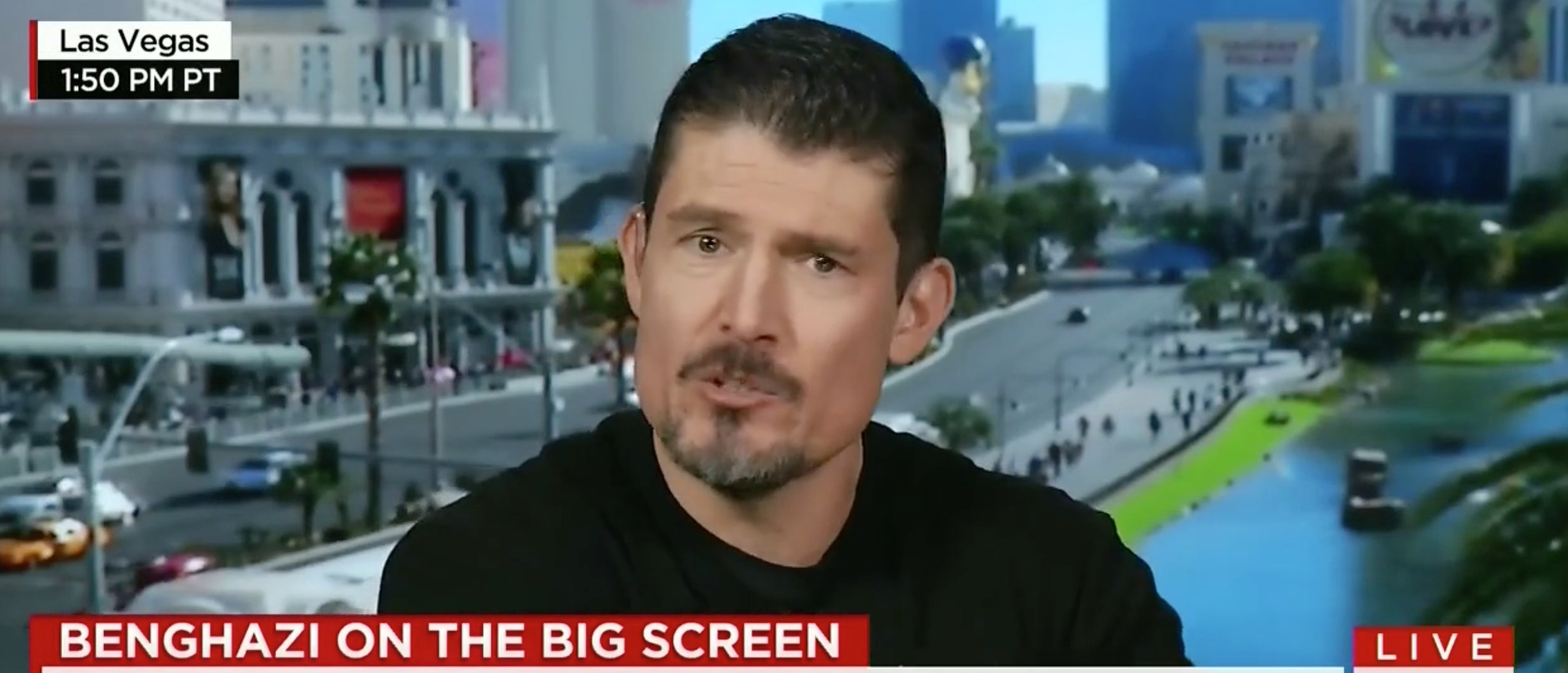 Benghazi Hero: '13 Hours' Is 'Not A Political Movie' [screen shot CNN]