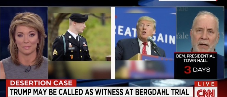 Bergdahl Attorney: Trump Could Face A Defamation Suit For His Comments [screen shot CNN]