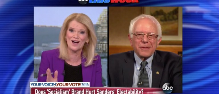 Bernie Sanders: 'I Fully Admit To Having A Big Ego' [screen shot ABC]