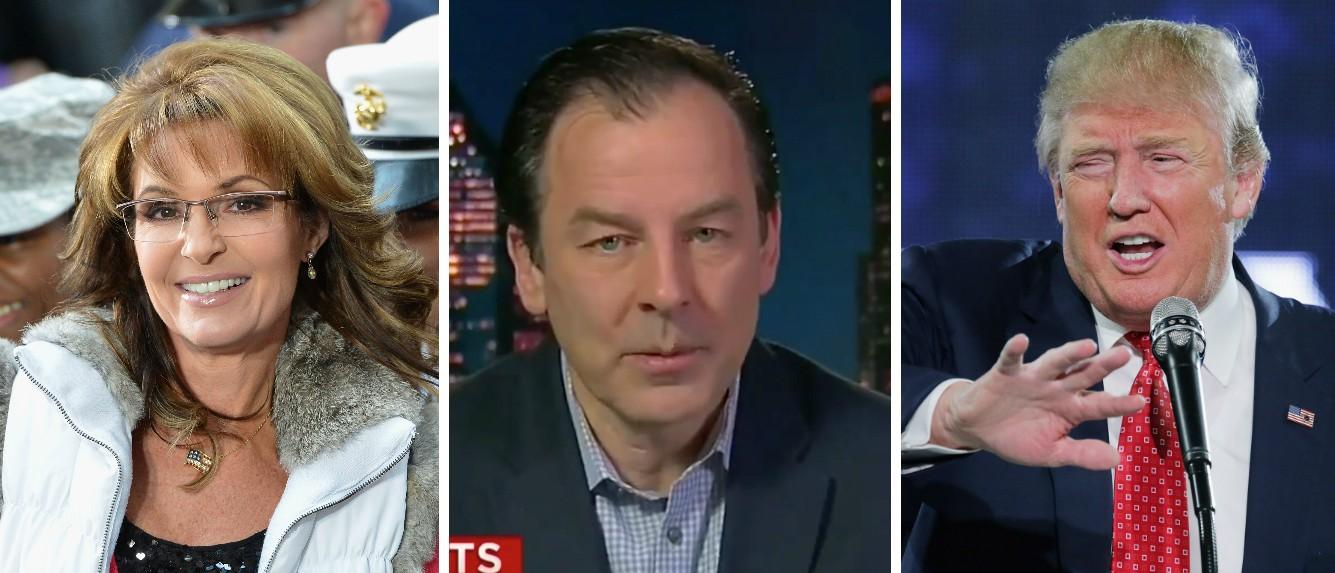Cruz Spokesman Slams Sarah Palin Ahead Of Her Possible Trump Endorsement [images via Getty, Screen shot CNN, Getty]