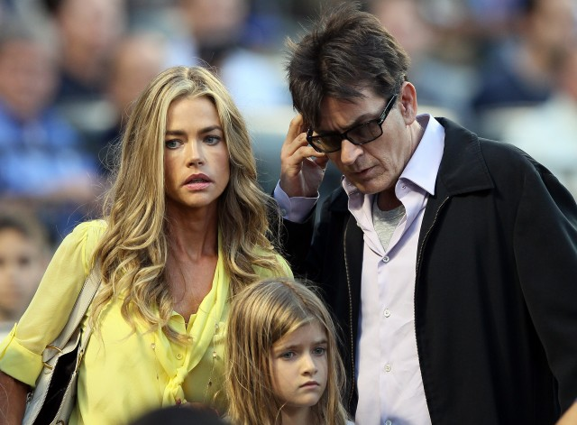 Charlie Sheen's daughters found out about HIV diagnosis