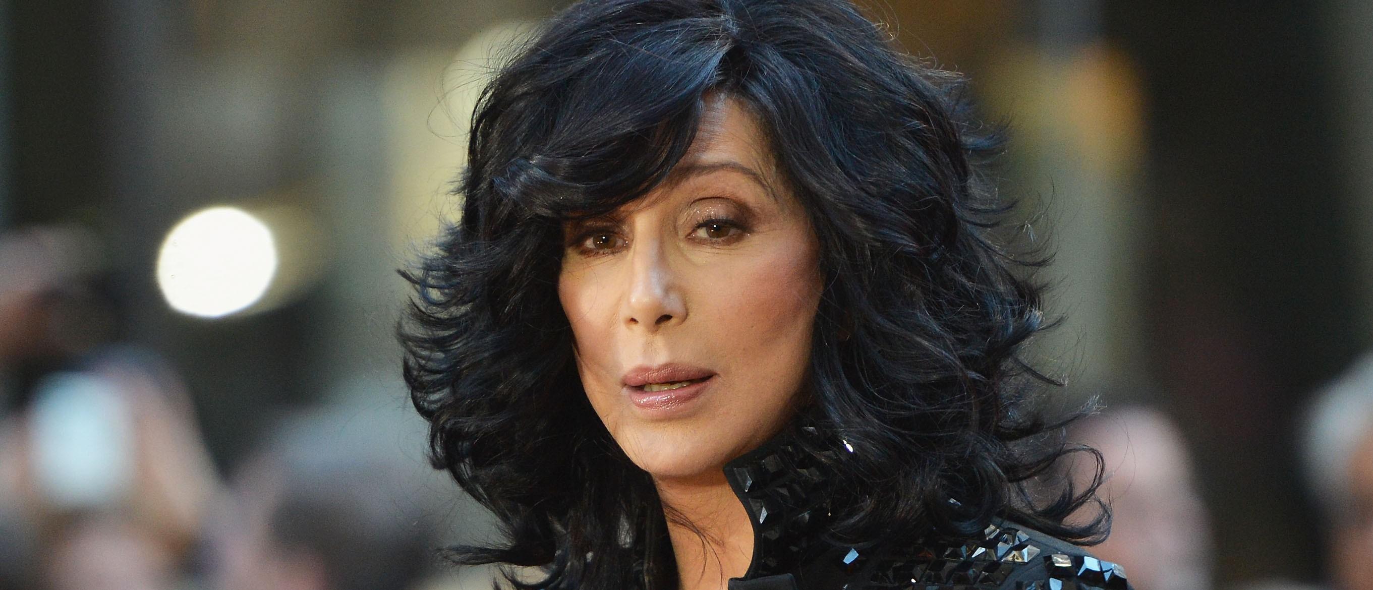 Cher makes fun of Donald Trump