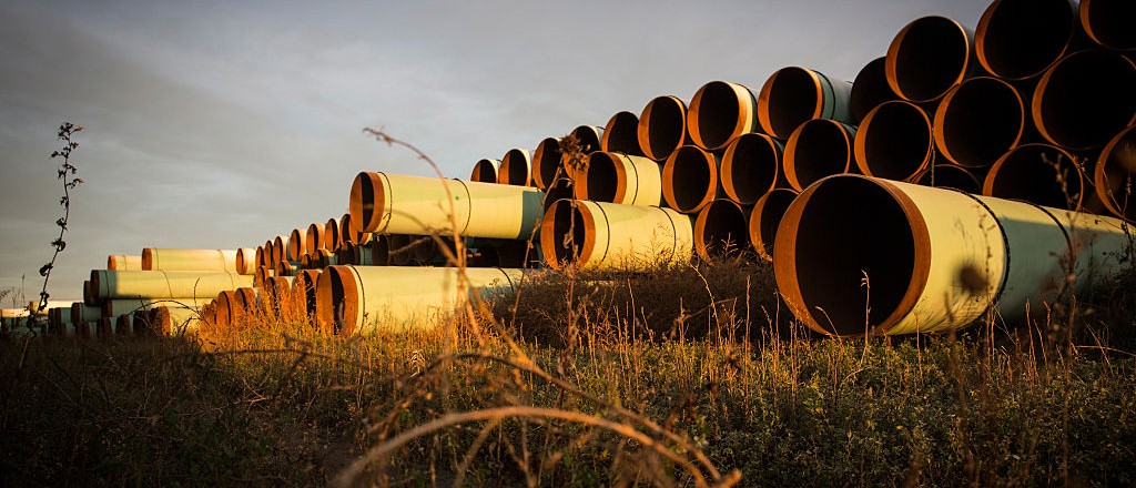 Keystone Company Sues Obama Administration For Blocking XL Pipeline (Getty Images)