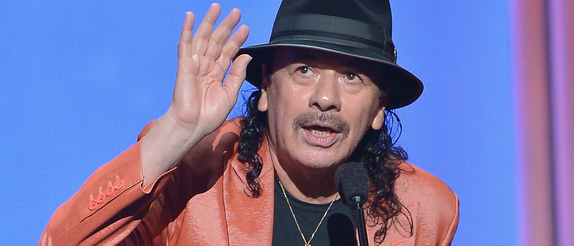 Carlos Santana compares Donald Trump to a monkey. (Photo: Getty Images)