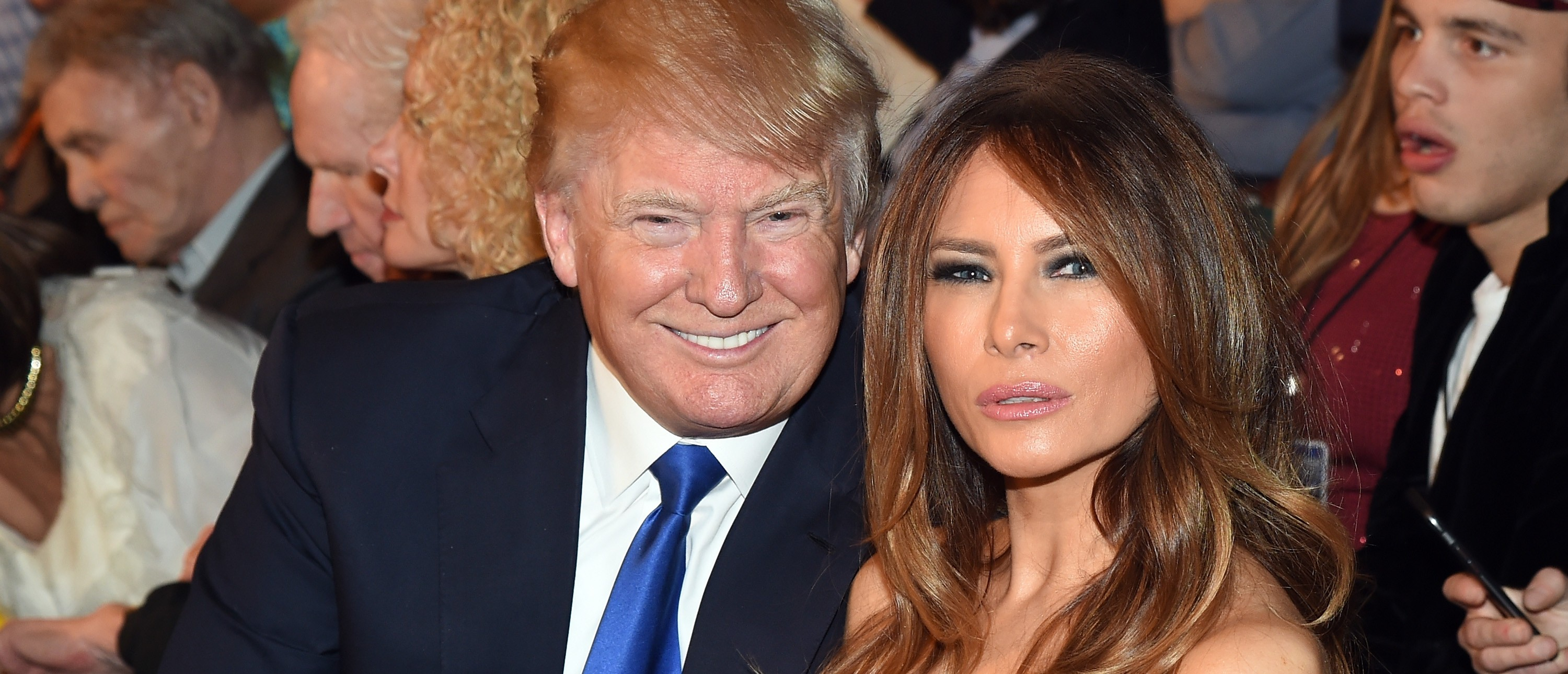 Melania Trump doesn't appear with Donald in public that much. (Photo: Getty Images)