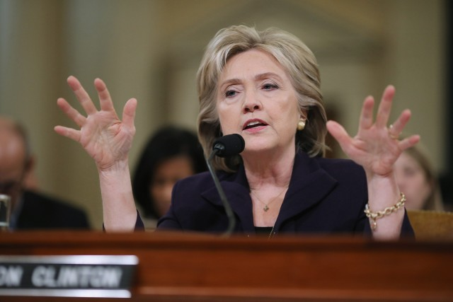 Hillary Clinton not in Benghazi film
