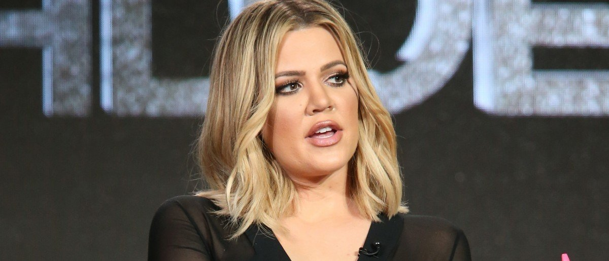 Khloe Kardashian gives update on Lamar Odom. (Photo by Frederick M. Brown/Getty Images)
