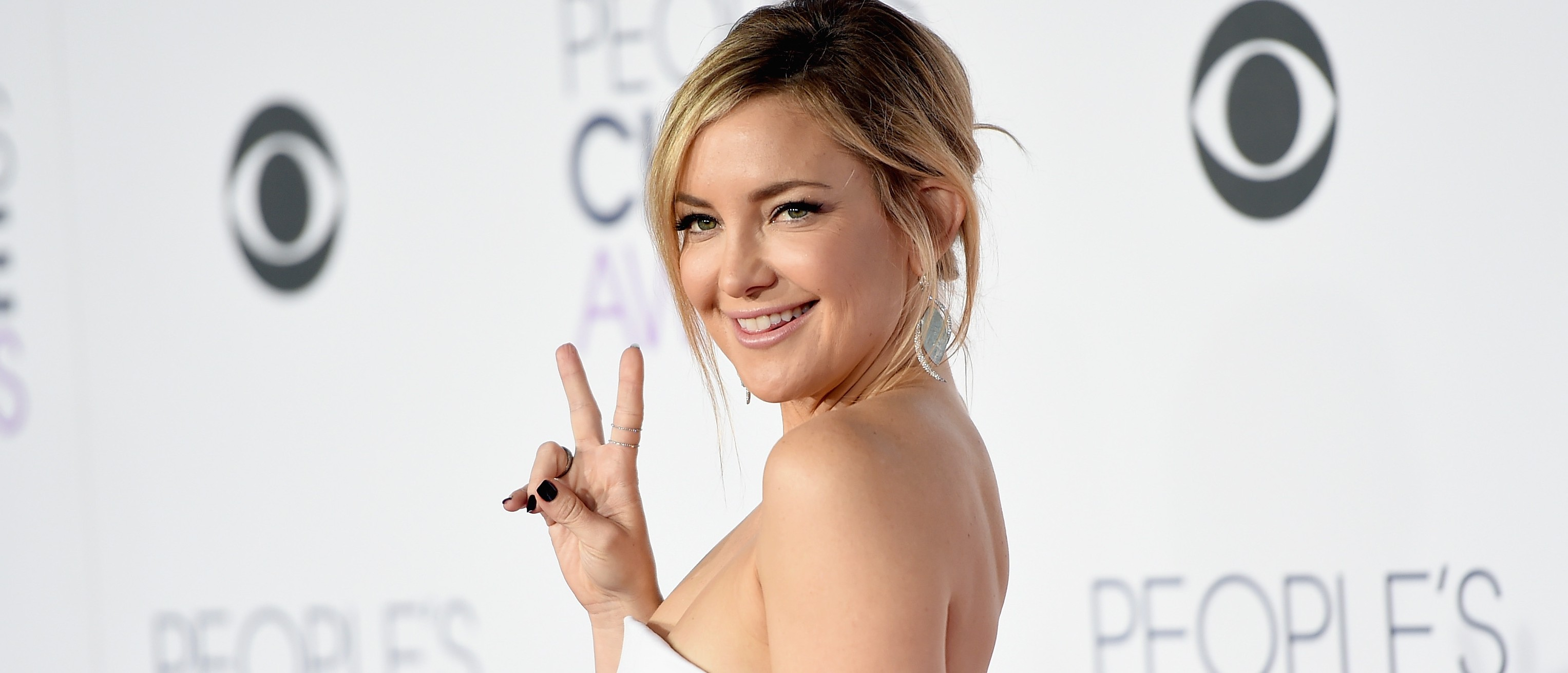 Kate Hudson at the People's Choice Awards. (Photo: Jason Merritt/Getty Images)