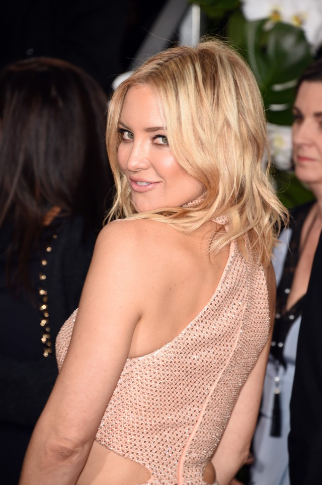 Kate Hudson Golden Globe awards dress