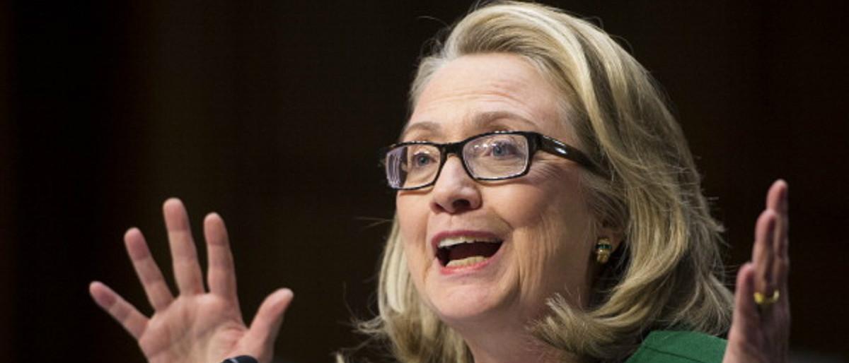 Hillary Clinton Benghazi hearing (Getty Images/Bill Clark)
