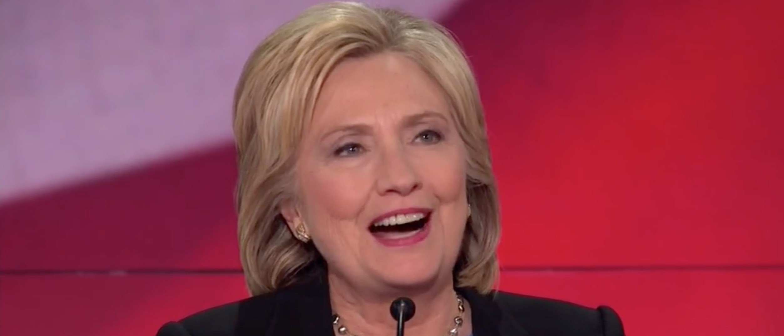 Hillary: My Relationship With Putin Is One Of Respect [screen shot NBC]