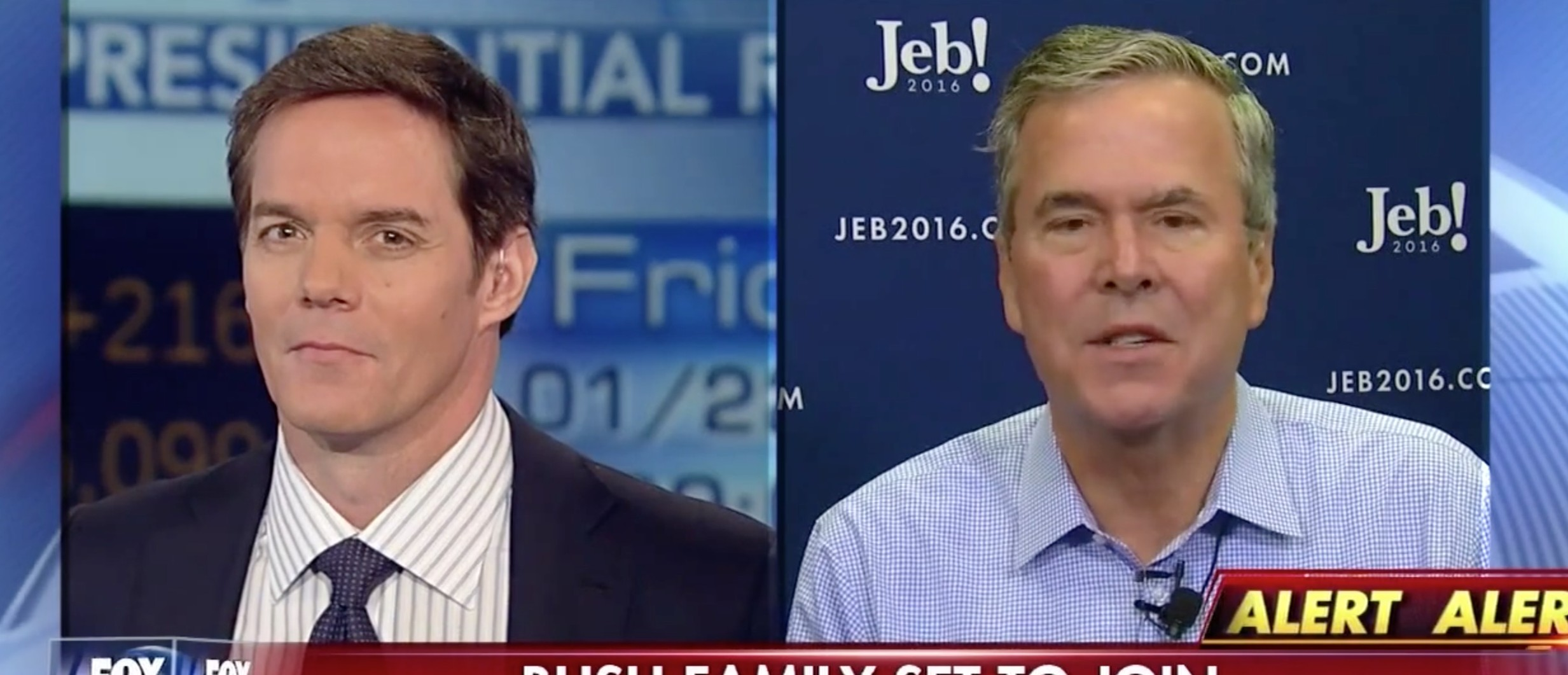 Jeb Bush- George W. Bush Is 'A Popular Republican' [screen shot FNC]