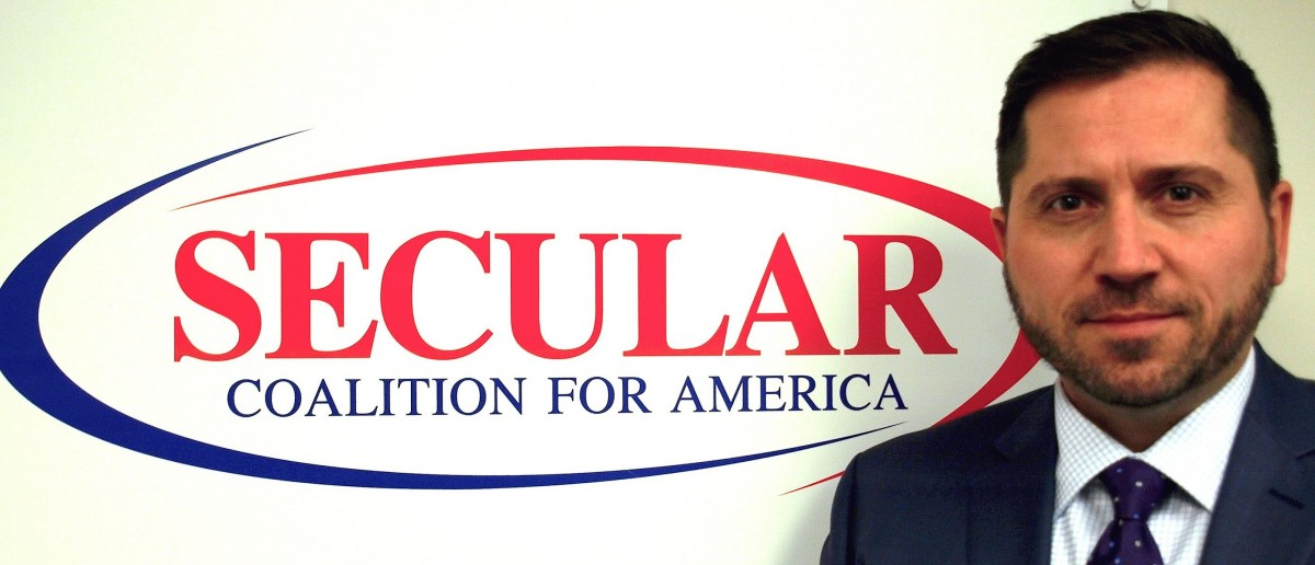 Larry Decker, Photo: Secular Coalition of America