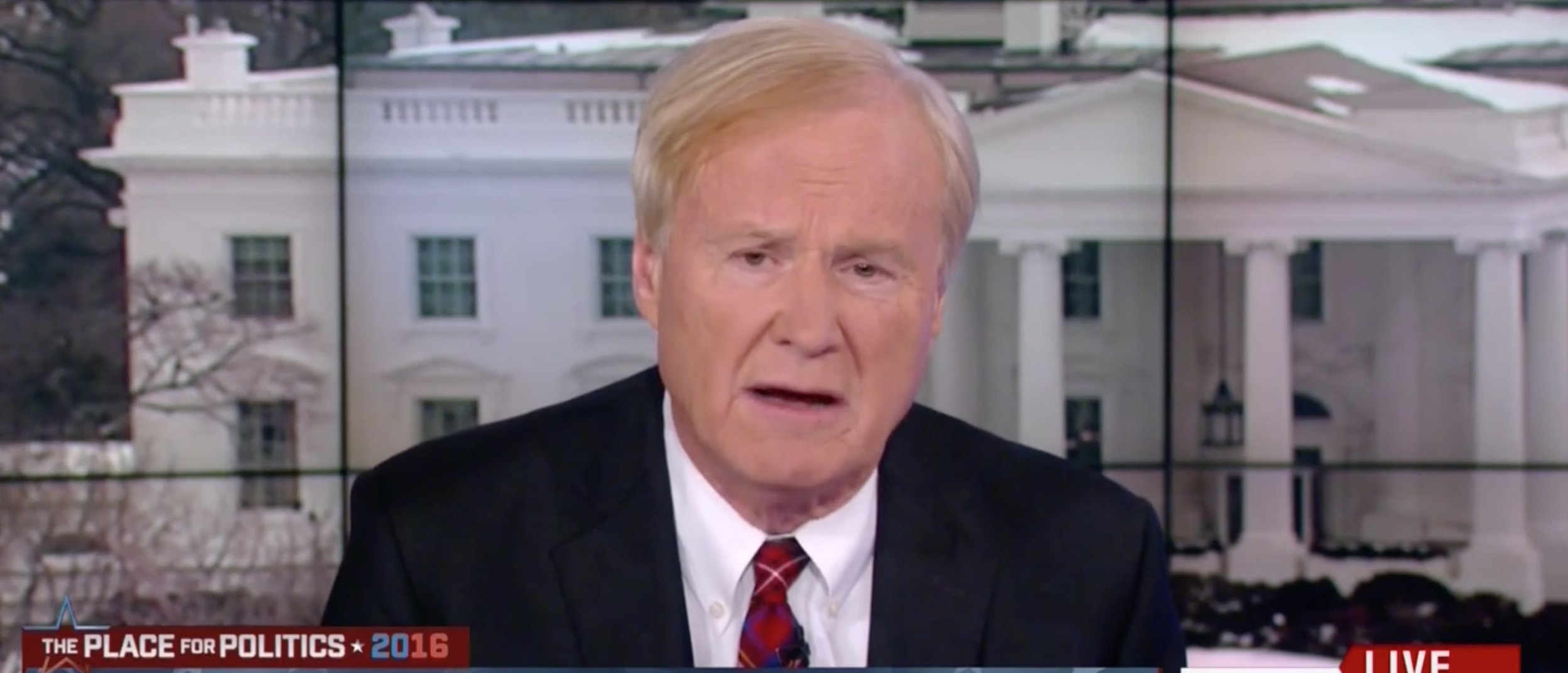 MSNBC's Matthews: There's A 'Vast Right-Wing Conspiracy' Against Hillary Clinton [screen shot MSNBC]