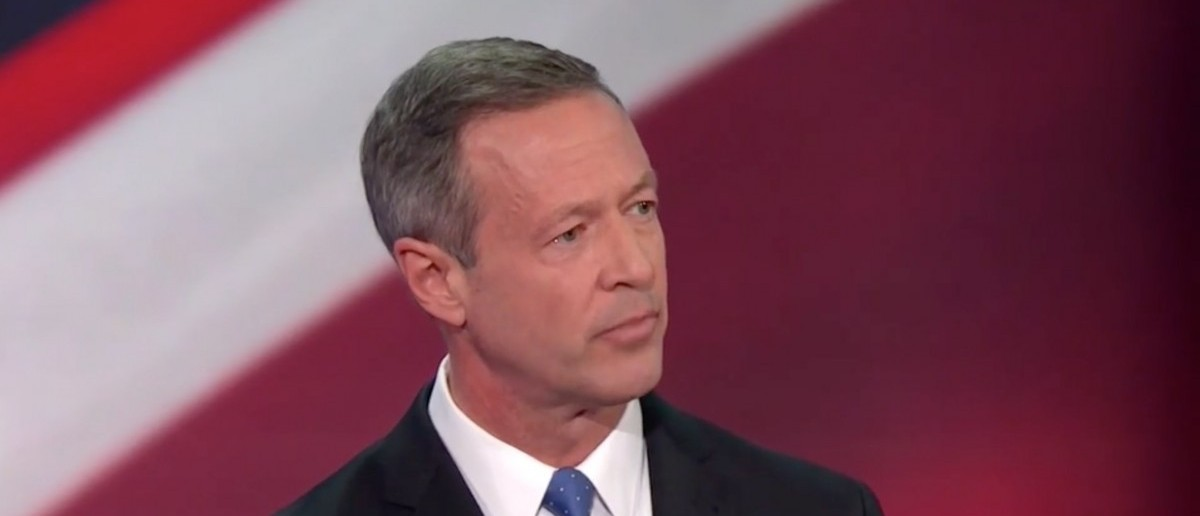 Martin O'Malley: I've Never Met A Self-Respecting Deer Hunter That Needed An AR-15 To Down A Deer' [screen shot NBC]