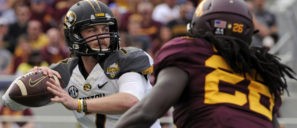 Missouri Tigers quarterback Maty Mauk