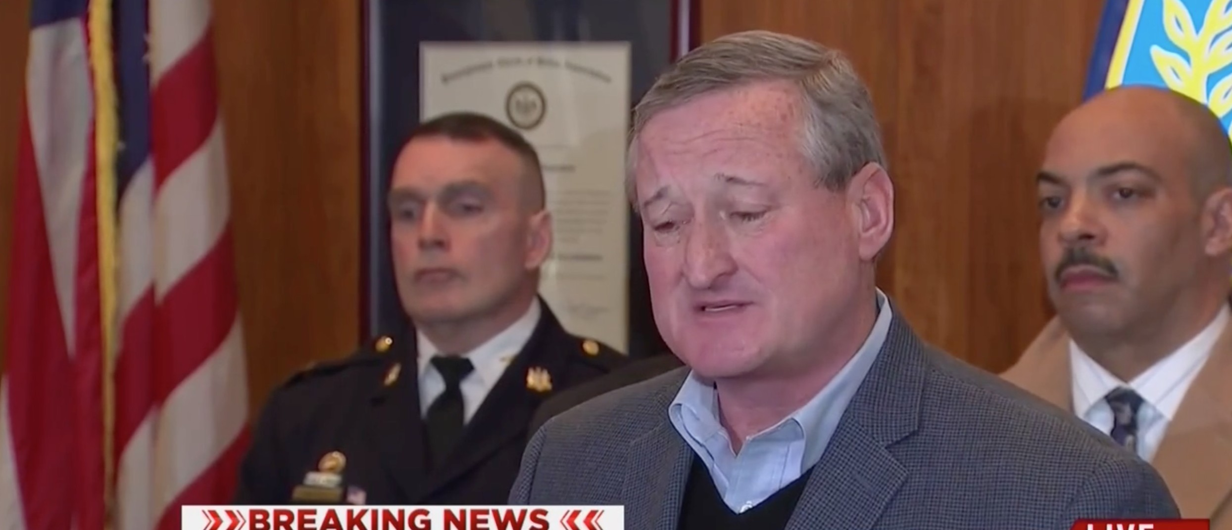Philly Mayor: The Jihadist Who Shot A Police Officer Has 'Nothing To Do With Being A Muslim' [screen shot MSNBC]