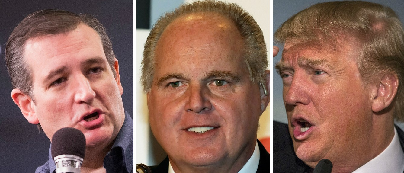 Rush: Trump Supporting Ethanol Subsidies 'Reeks Of Political Insiderism' [images via Getty]