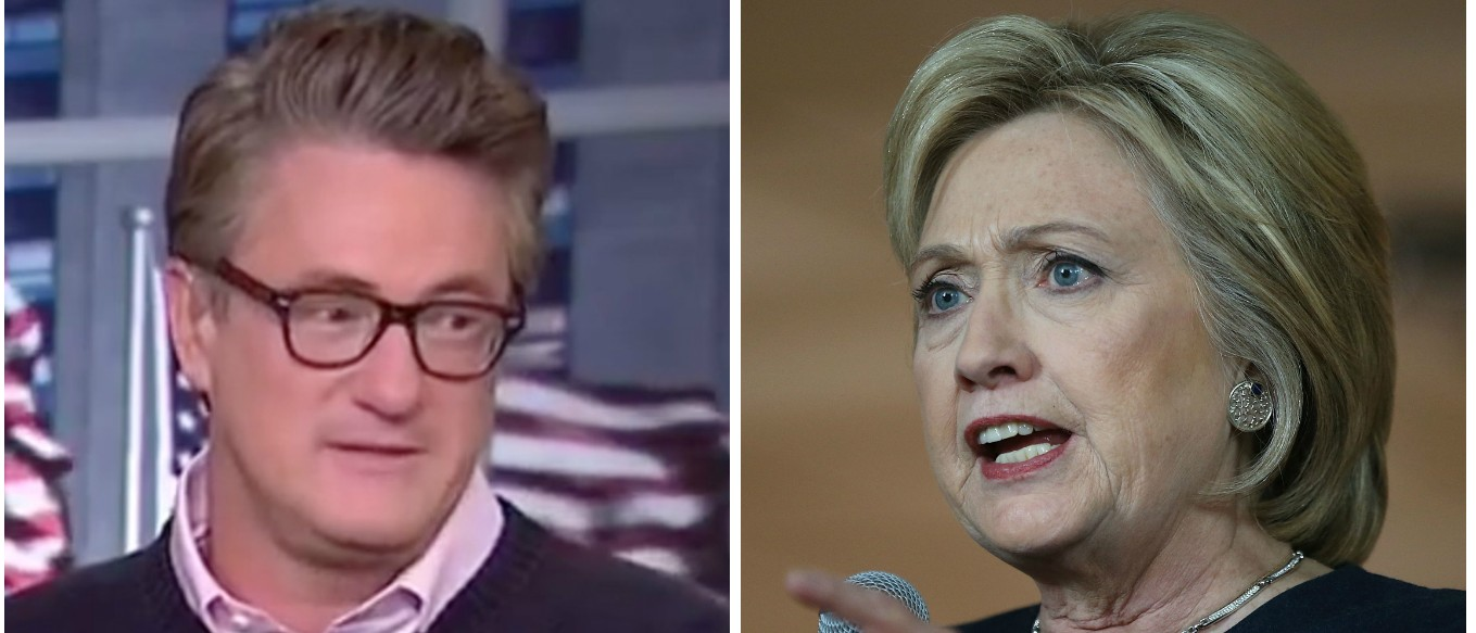 Scarborough Mocks Hillary For Soliciting Big Money Days Before Iowa Caucus [MSNBC and Getty]