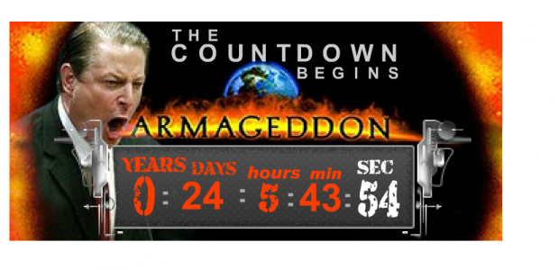Al Gore Countdown Clock to Armageddon (Rushlimbaugh.com)