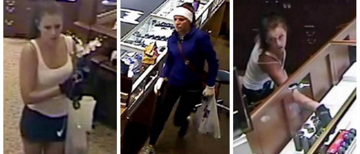 Meet The Million Dollar Jewel Thief, Burnin' Up The South With Her Looks (screenshot: NBC)