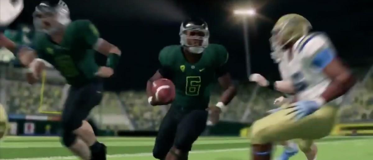 NCAA Football 14 (Credit: Screenshot/Youtube IGN)