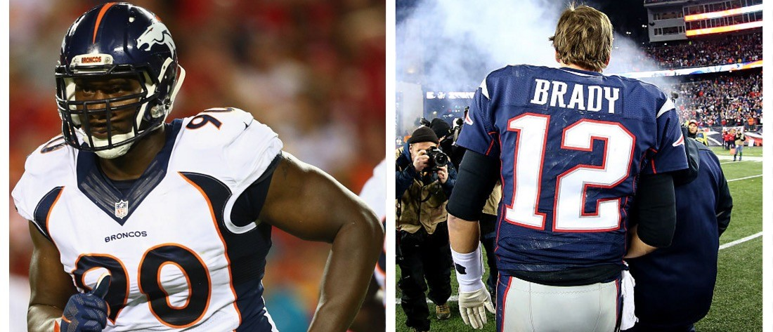 Broncos Lineman Trashes 'Crybaby' Tom Brady Ahead Of AFC Championship (Getty Images)