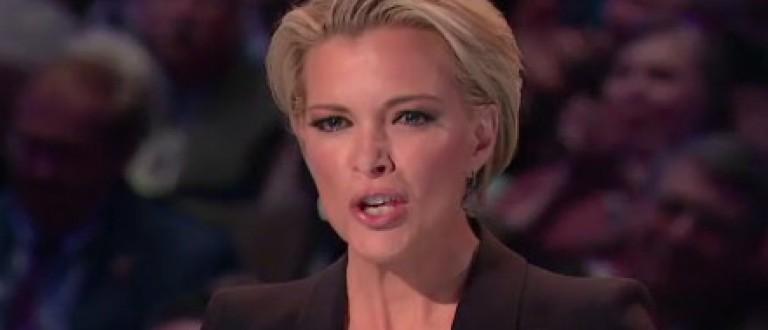 Megyn Kelly hair during the Fox News debate. (Photo: Fox screen grab)