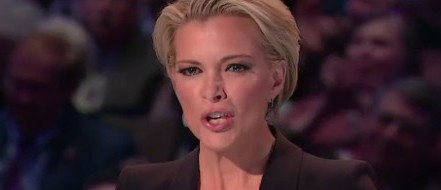 Megyn Kelly hair during the Fox News debate. (Photo: Fox screen grab)