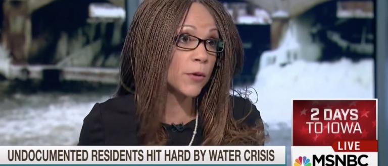 Screen shot MSNBC