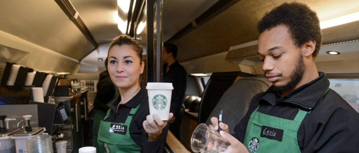 Starbucks Getty Images/Fabrice Coffrini
