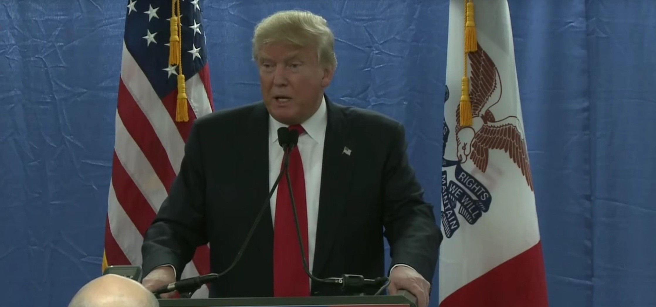 Trump: Fox News Is 'Playing Games' And 'Probably I Won't Be Doing The Debate' [screen shot YT]