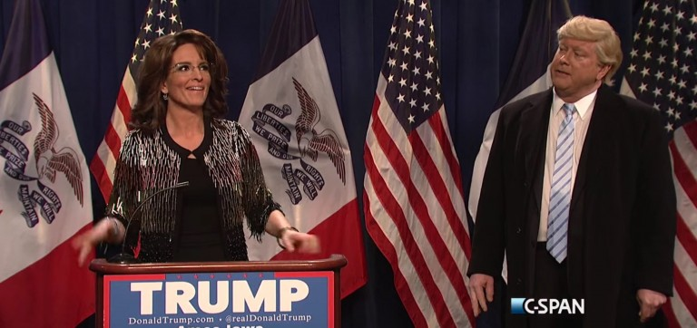 Watch Tina Fey Return To 'Saturday Night Live' To Portray Sarah Palin [VIDEO]