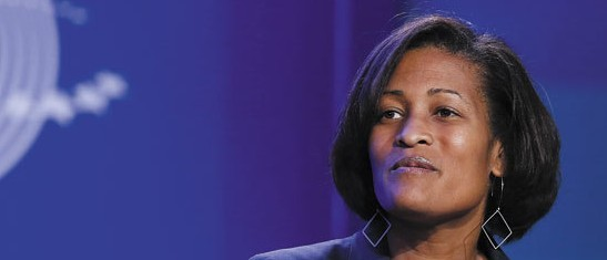 Hillary Clinton's former chief of staff, Cheryl Mills (REUTERS)