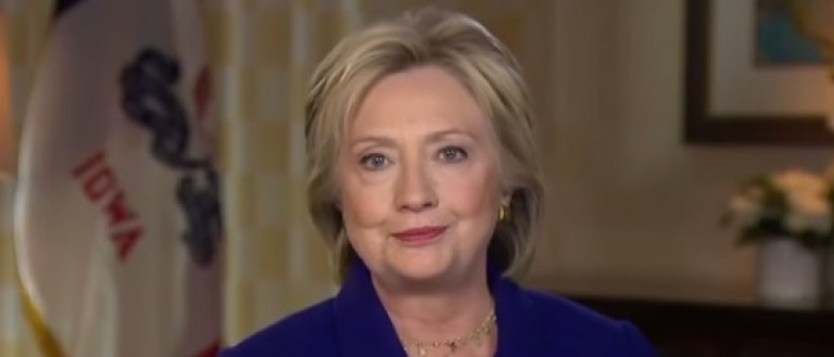"Hillary Clinton on ABC ""This Week,"" Jan. 31, 2016. (Youtube screen grab)"