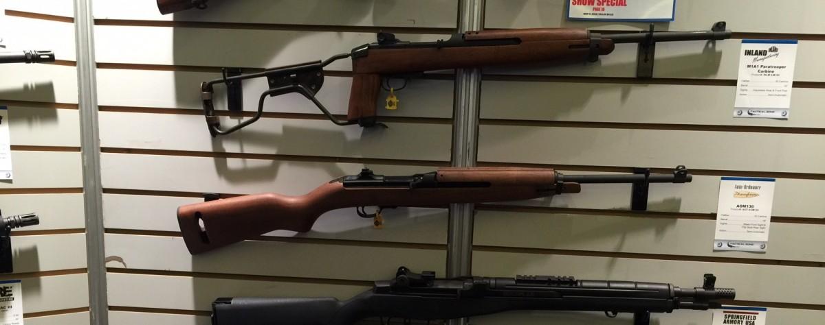 Vendors display latest gun line at SHOT Show 2016 (Photo: Kerry Picket)