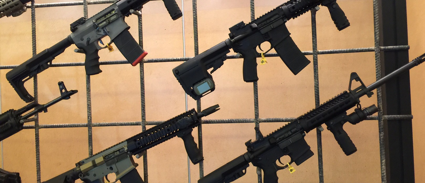 Vendors display latest gun line at SHOT Show 2016 (Photo: Kerry Picket)