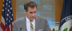 State Department spokesman John Kirby (Screengrab)
