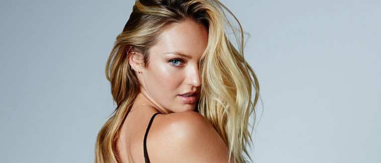 Candice Swanepoel shows off her butt in Instagram snap. (Photo: Victoria's Secret)